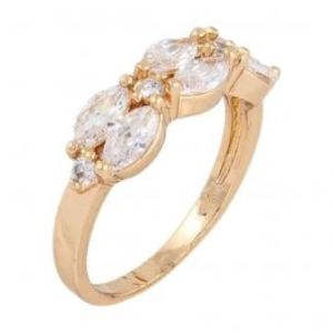 24 K Gold Plated Ring JPZP 71