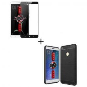 Xiaomi Redmi 4x Ultra Thin Electroplating 3 Piece Case Black