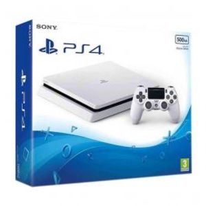 PlayStation 4 Slim 500GB White