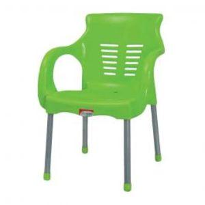 Super Steel Plastic Chair Green