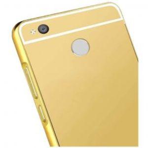 Xiaomi Redmi 4X Gold Mirror Bumper Case