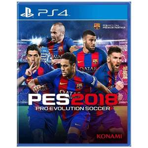 Pro Evolution Soccer 2018 PlayStation 4 Game