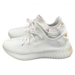 Mens YEEZY BOOST 350 V2 Cream Triple white Shoes