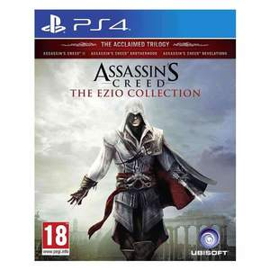 Assassins Creed The Ezio Collection Ps4 Game