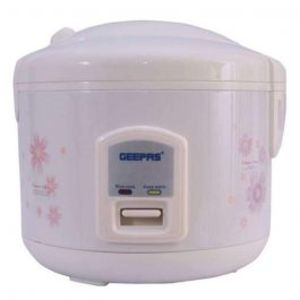 Geepas Electric Rice Cooker -1.5litre -590watts - White