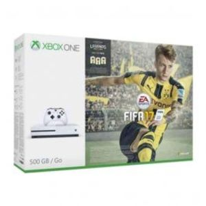 Microsoft Xbox One S FIFA 17 Bundle 500 GB White