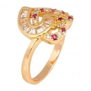 24 K Gold Plated Ring JPZP 63