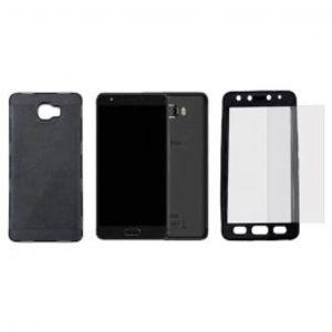 Pack of 2 Xiaomi Redmi 4x Glass & Electroplating Case