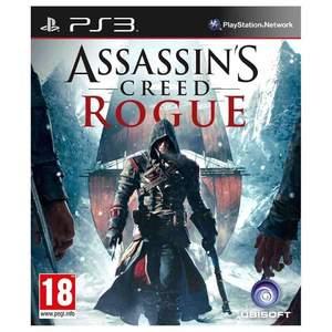 Assassin Creed Rogue Playstation 3 Game