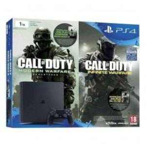 PlayStation 4 1TB  Call of Duty Infinite Warfare Bundle Black