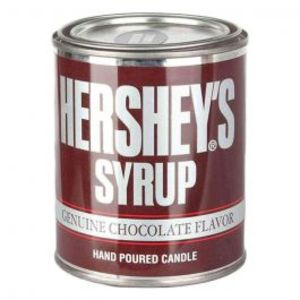 Hersheys Scented Candle Can
