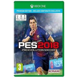 Microsoft Pro Evolution Soccer 2018 Xbox One