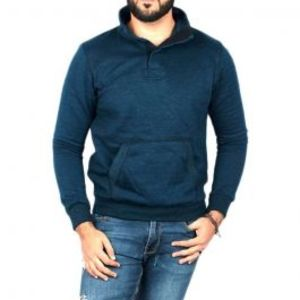 YNG  Navy Blue Sweatshirts For Men