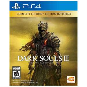 Dark Souls 3 The Fire Fades Edition Ps4 Game