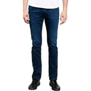 Mens Cotton Dark Blue Jeans