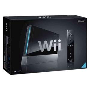 NIntendo Wii Black Modified Console