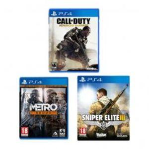 Sony Bundle offer 03 PlayStation 4 COD Advance Warfare   Sniper Elite 3   Metro