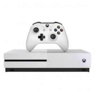 Microsoft Xbox One S Robot White 500GB + Minecraft Favorites Console