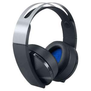 PlayStation 4 Platinum Wireless Headset Black & Silver