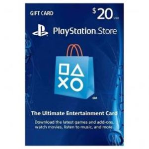 Sony PlayStation Gift Card - $20 (Region 1)