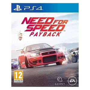 EA Sports Need For Speed Payback Playstation 4