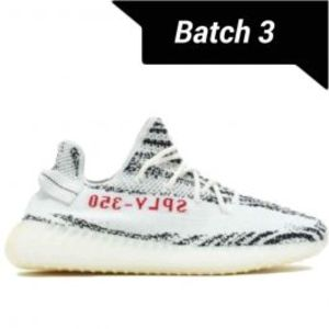 Mens Yeezy Boost 350 V2 Zebra Shoes