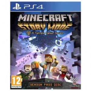 Minecraft Story Mode A Telltale Game PlayStation 4 Game