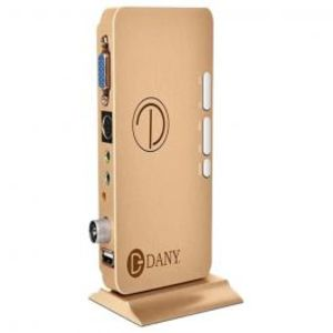 Dany HDTV 1000 TV Device (Golden)