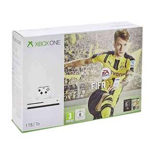 Microsoft Xbox One S 1TB FIFA 17 Bundle with Charging Pod & Vertical Stand