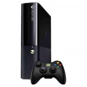 Microsoft Xbox 360 E 500GB Bundle with 2 Controllers Black