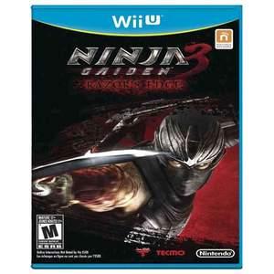 Tecmo Ninja Gaiden 3 Razors Edge Wii U