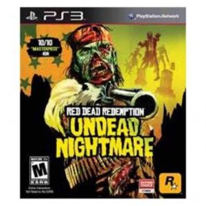 Red Dead Redemption Undead NightMare Ps3 Game