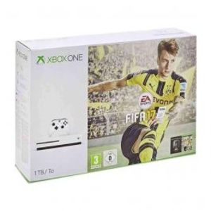 Microsoft Xbox One S FIFA 17 Bundle 1TB White