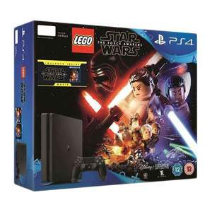PlayStation 4 500GB with LEGO Star Wars The Force Awakens Game Movie Bundle