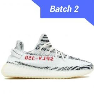 Mens Yeezy Boost v2 Zebra Real Boost Shoes