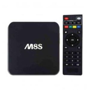 LapTab M8S Android Smart Tv Box 1G 8G Quad core 2k 4k Black