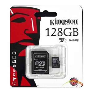 Kingston Micro SD 128GB Card Class10