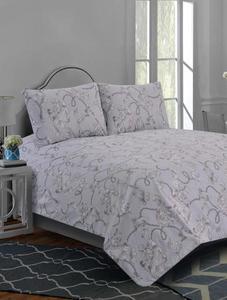 Khas 2 Pcs Baroque Scroll Bed Sheet Single