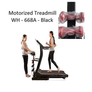 Motorized Treadmill - WH 668A 3 0 HP - Black-27
