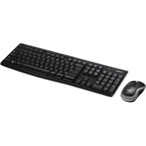 Logitech MK275 Wireless Keyboard & Mouse Combo with Media Keys