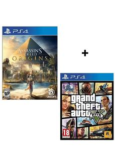 Electrogamer Bundle Offer - GTA V  Assassins Creed Origins - PlayStation 4
