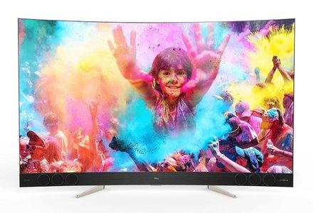 TCL 65 C65X3 QLED Curved 4K LED TV