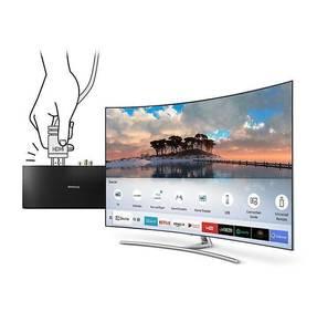 Samsung 55 QLED Q8C Curved 4K Smart TV