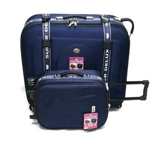 Super Premium Deluxe 2 Pcs Suitcase Set Huge Capacity Premium Quality-SUPER DELUXE 2