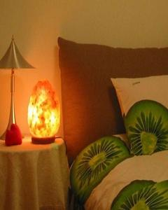 Natural Salt Table Lamp for Asthma Patients