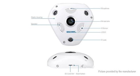 360 Degree Wireless Surveillance Camera