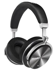 Electrotech T4 Turbine-Active Noise Cancelling Over-Ear Swiveling Wireless Bluetooth Headphones With Mic-Black