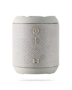 REMAX M21 -  IPX5 Portable Bluetooth Speaker with Dual-driver Waterproof - Silver