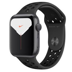 Apple Watch Series 5 44mm Space Gray Aluminum Case with Nike Sport BandApple Watch Series 5 44mm Space Gray Aluminum Case with Nike Sport Band