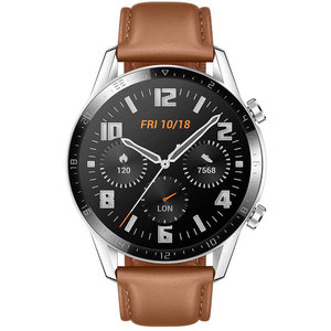 Huawei Watch GT 2 46mm Stainless Steel (Pebble Brown) Huawei Watch GT 2 46mm Stainless Steel (Pebble Brown)